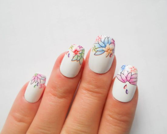39 Stylish Pastel Nail Designs For 2016 Nail Design Ideaz