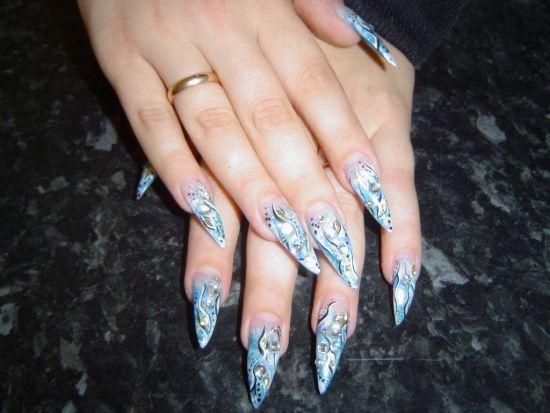 Stone Nail Art
