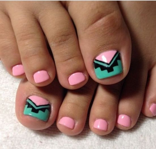 Sexy pedicure designs