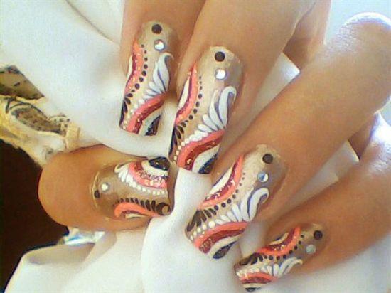 Stone Nail Designs