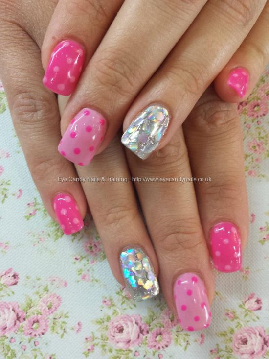 37 Beautiful Pink Glitter Nail Art Ideas | Nail Design Ideaz