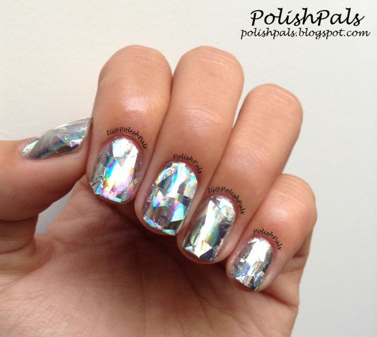 35 Gorgeous Metallic Nail Polish Designs | Nail Design Ideaz