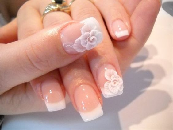 30 Elegant Wedding Nail Designs Nail Design Ideaz Page 14