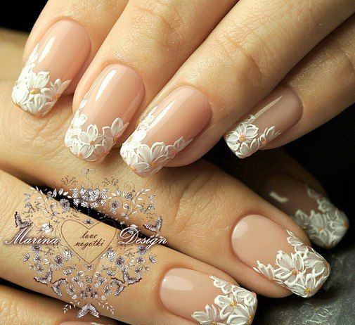 Wedding Nail Designs Archives | Nail Design Ideaz