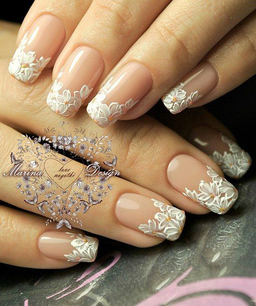 Wedding Nail Art Designs Gallery: 30 Elegant Wedding Nail Designs