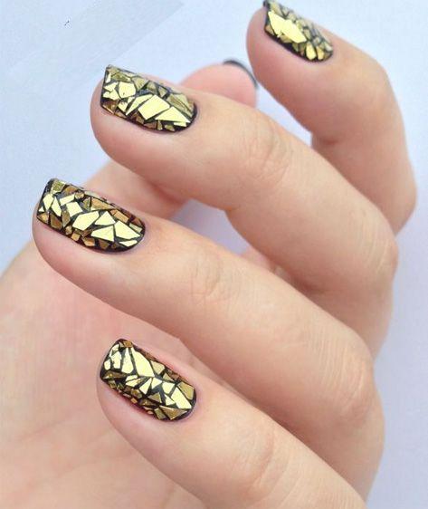 30 Dashing Geometric Nail Art Ideas