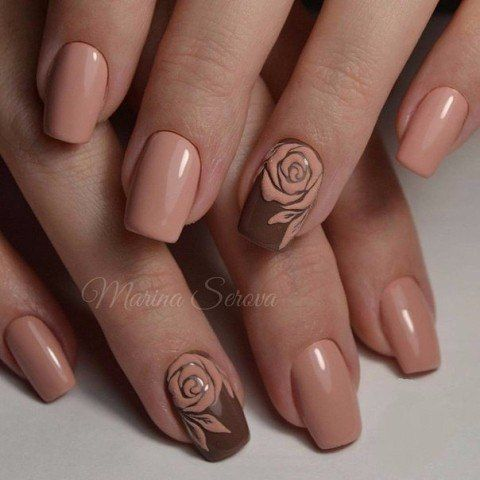 - 35 Exceptional Accent Nail Art Ideas Nail Design Ideaz