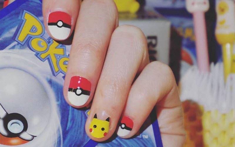 25 Cute Pokemon Nail Designs