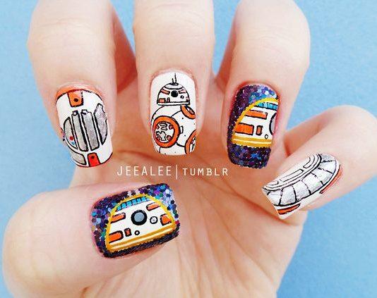 BB8 Nail Designs