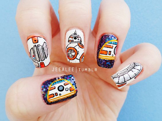 30 Awesome Star Wars Nails