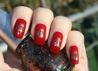 Bells On Red Polish
