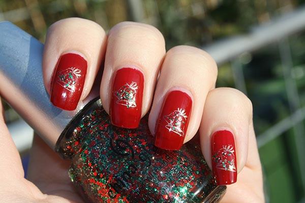 36 Festive Christmas Nail Designs