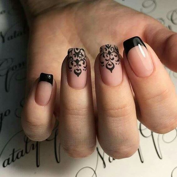 40 Alluring French Nails Designs