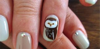 Black and Brown Nail Designs