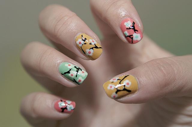 38 stunning cherry blossom nail art nail design ideaz prinsesfo Images