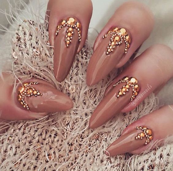 30 Glorious Jewel Nails Nail Design Ideaz