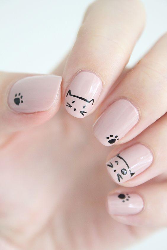 50 Cute Animal Nails | Nail Design Ideaz