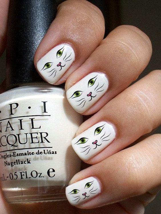 50 Darling Animal Nail Art Nail Design Ideaz