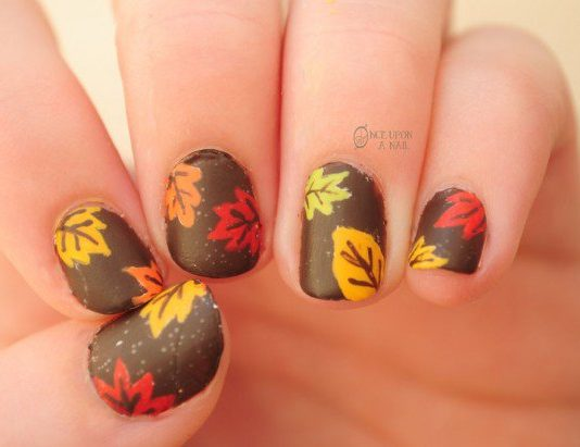 Thanksgiving Nail Designs Archives Nail Design Ideaz
