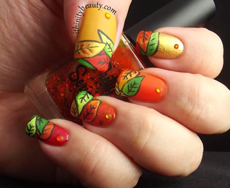 chic-autumn-nail-art