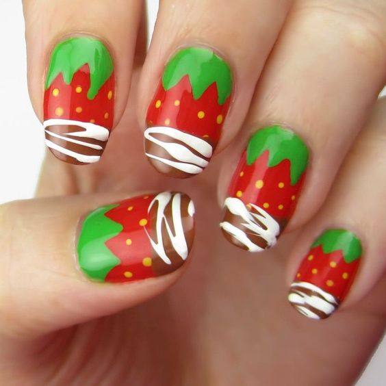 Strawberry Nails Design Best Nail Designs 2018