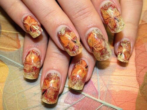 cool-leaf-nails
