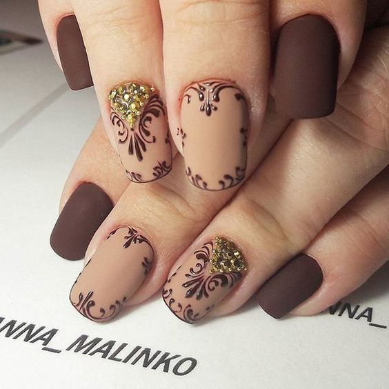 32 Admirable Squoval Nails