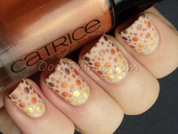 Fall Inspired Nail Dots