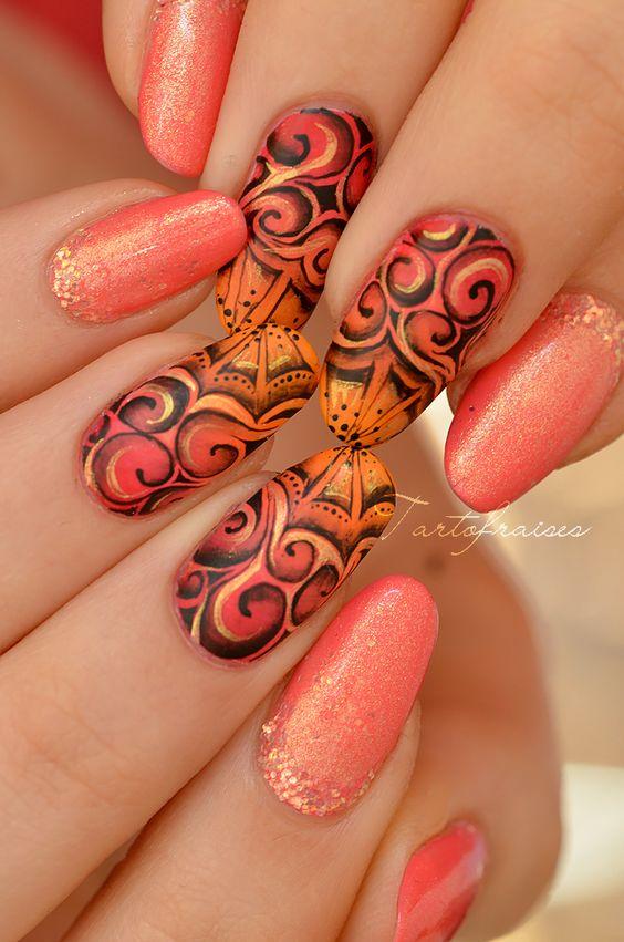 30 Swirl Nail Art
