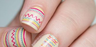 Inricate Tribal Nails
