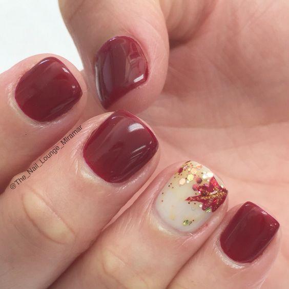 little-autumn-nail-designs