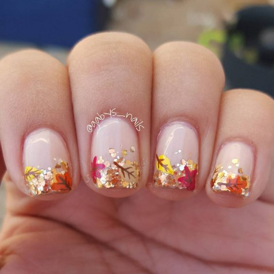 32 Gorgeous Nail Ideas For Fall | Nail Design Ideaz