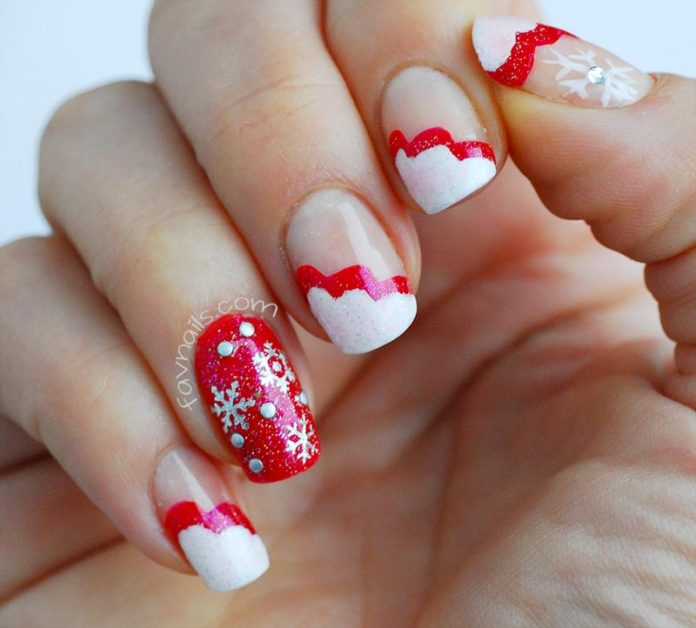 Lou Is Perfectly Polished Christmas Nails Christmas Trees: Nail Design Ideaz - Page 7