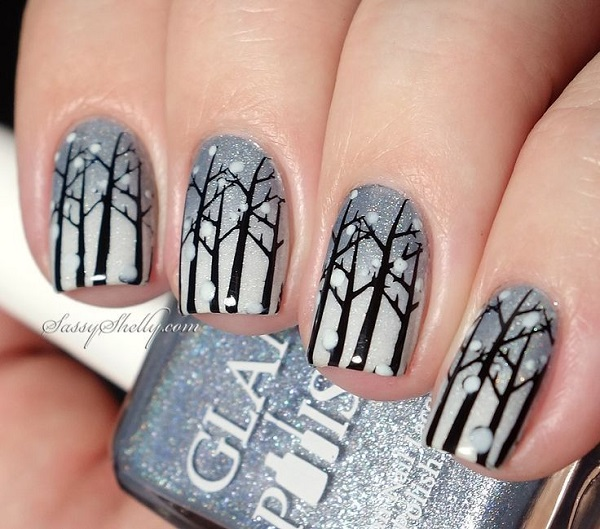 40 Mesmerizing Nail Designs For Winter