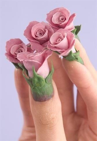 30 Bombastic 3D Nail Design