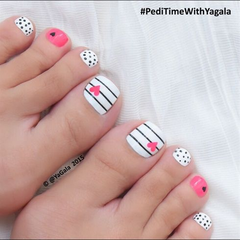 Photo Credit: peditimeyagala. BackNext. TAGS; nail art for toes - 30 Creative Nail Art For Toes Nail Design Ideaz