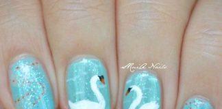 swan nails