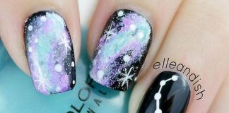 Constellation Cosmic Nails