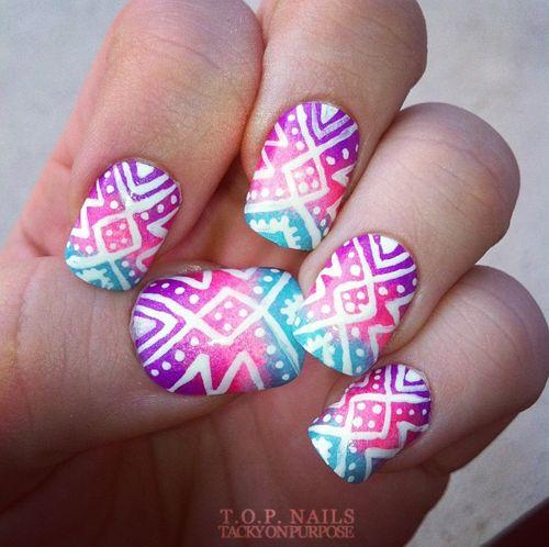 40 Fab Aztec Nails