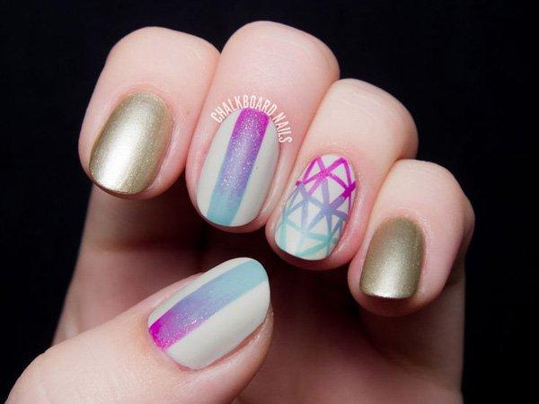35 Lovely Gradient Nail Design
