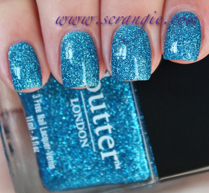 11light Blue Nails