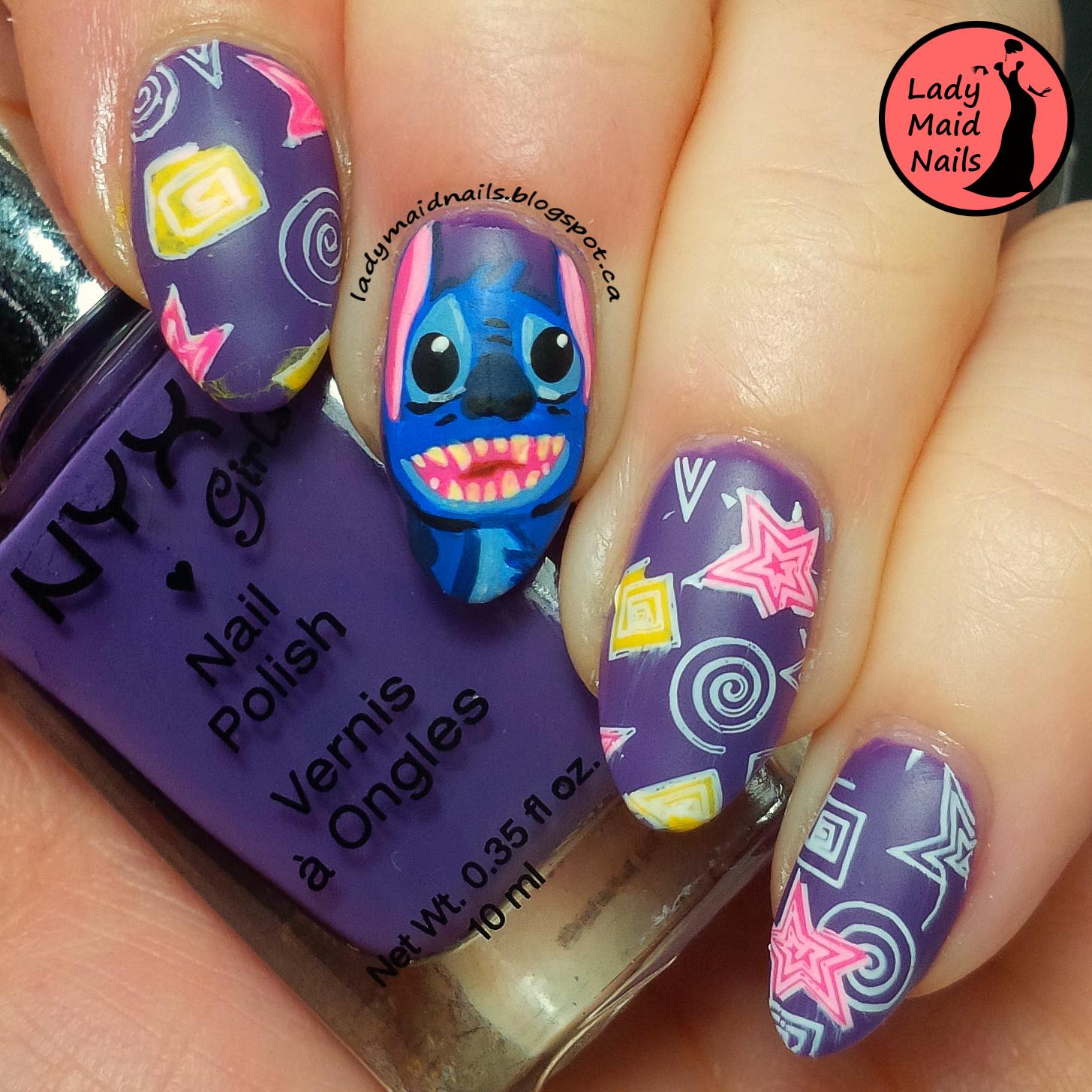 25 Nostalgic Disney Nail Designs   Nail Design Ideaz