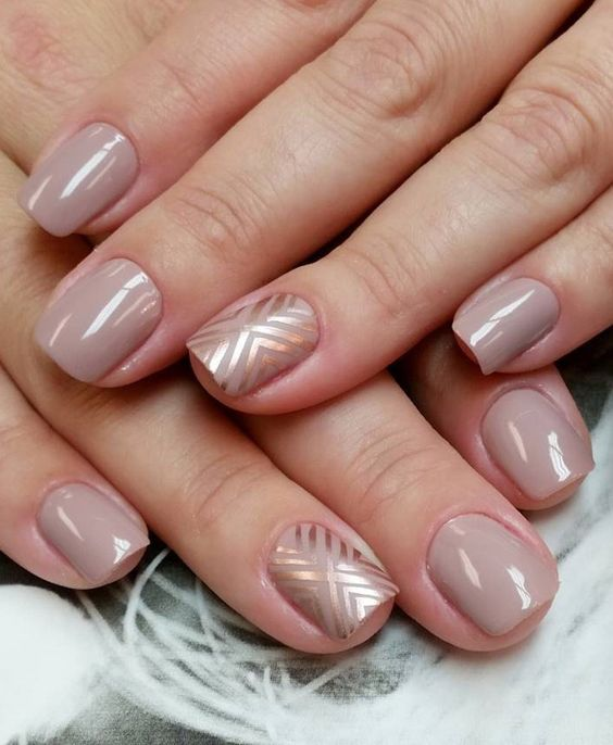 30 Subtle Nude Nail Ideas | Nail Design Ideaz