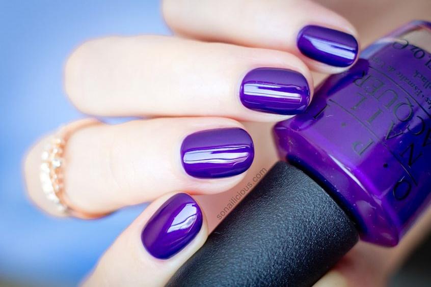 40 Elegant Purple Nail Polish