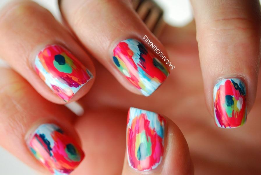 50 Abstract Nail Art Designs | Nail Design Ideaz