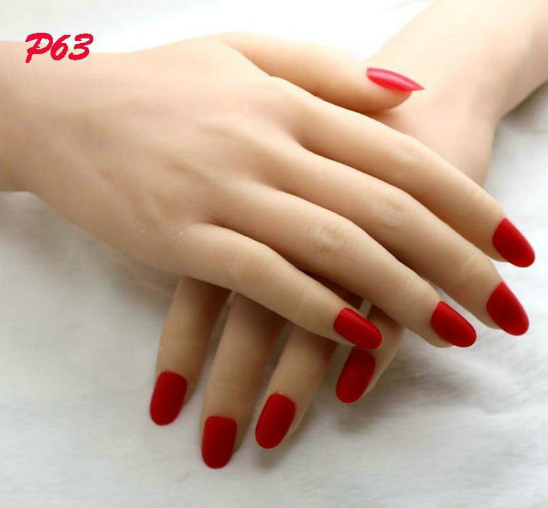 30 Seductive Red Nails Nail Design Ideaz Page 8