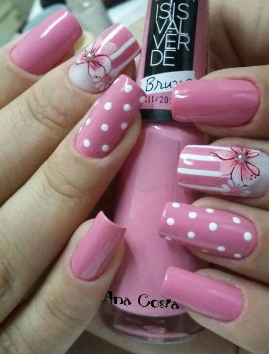 - 30 Pretty Pink Nails Nail Design Ideaz