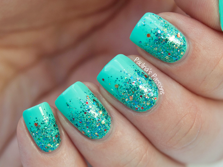 48 Sparkly and Glittery Nails | Nail Design Ideaz