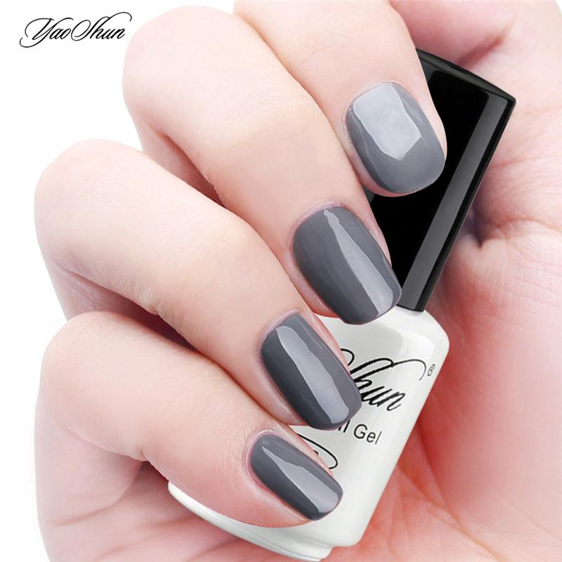30 Classy Gray Nail Polish | Nail Design Ideaz