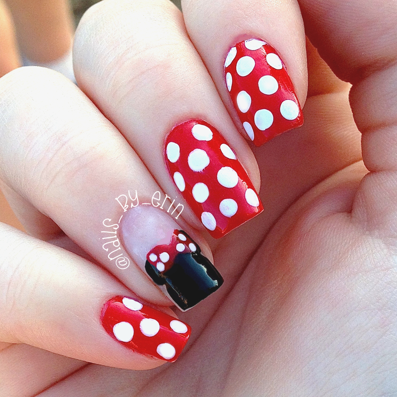 25 Minnie Mouse Nail Art Nail Design Ideaz Page 2